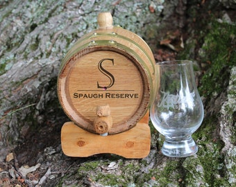 Personalized Whiskey Barrel, Engraved Barrel, Man Gift, Groomsman Gift, Outdoor Bar, Bar Gift, Whiskey Gift, Bourbon, Whiskey Barrel