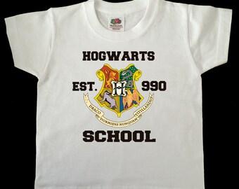 Harry Potter Hogwarts Crest child/toddler tshirt