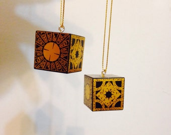 "Lament configuration 1"" solid wood block ornament (2 pack)"