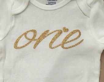 Birthday onesie| One