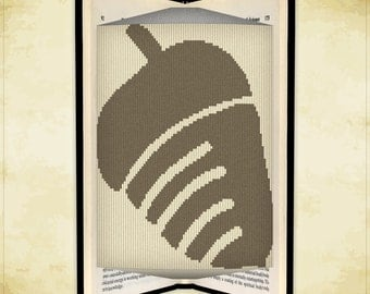 Book folding pattern Acorn for 273 folds - ID0889895