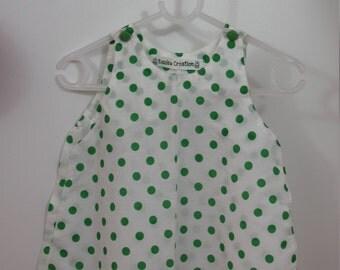 Dress AKI - cotton - 6 months
