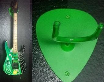 """Metal guitar hook, """"pic"""" shaped"""