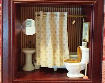 Bathroom Shadow Box