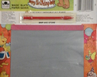 Vintage 1985 TEDDY RUXPIN Magic Slate