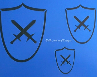 List 4 - Medieval or Renaissance Stencils  (Price is per photo/design) *Free gift with every order*