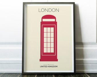 London Print, London Wall Art, London Poster, London Eye Print, Travel Print, Travel Wall Art, Urban Print, Urban Art