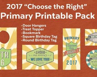2017 Primary Printable Pack