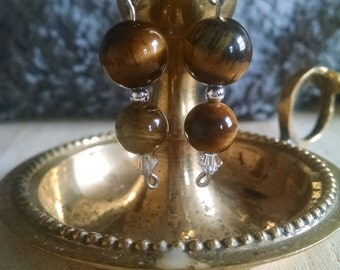 Tigerseye Dangle Earrings