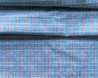 Antique Woven Check Yardage