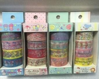 Sanrio Masking Tape Set