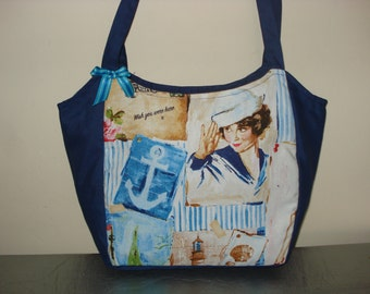 bag girls pin-up sailor