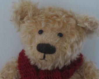 Lester - a O.O.A.K. hand stitched bear.