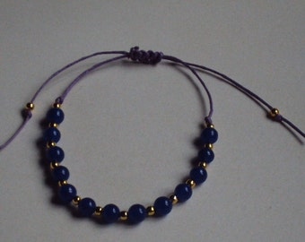 Blue Aventurine friendship bracelet