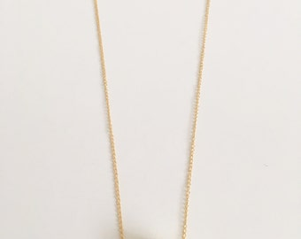 Gold Plated Lilac Stone Necklace