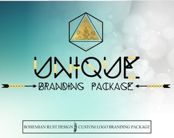 Custom Logo Design Package - Perfect for business owners looking to brand or rebrand their business.