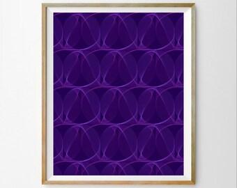 3D wall decor 3D wall art decor Prints for office Modern printable art Modern print instant download Modern digital art print