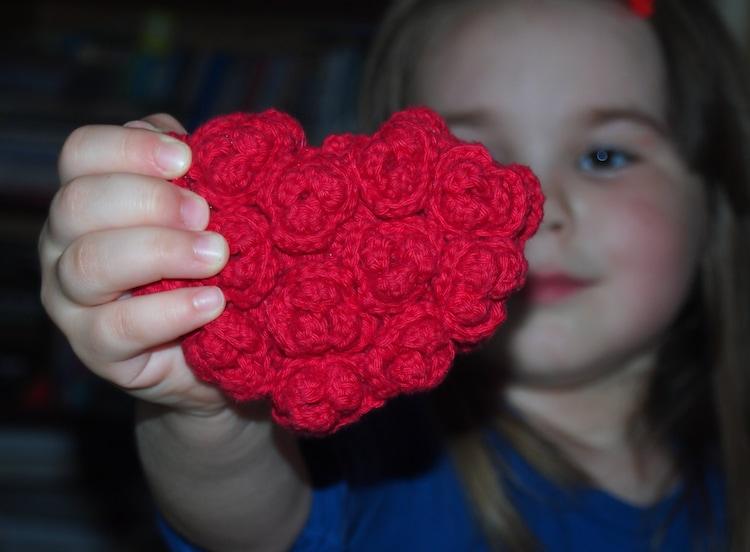 crochet pattern heart amigurumi ring pillow by ...