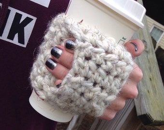 Coffee Cozy | Crochet Coffee Cozy |  Coffee Sleeve
