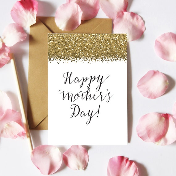 photo regarding Happy Mothers Day Printable Card called Delighted Moms Working day Card, Printable Suitable Mum Card, Gold Glitter Moms Working day Card Do-it-yourself Playing cards, Card Creating, Electronic Obtain, Fast Obtain