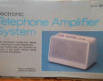 Duofone Electronic Telephone Amplifier