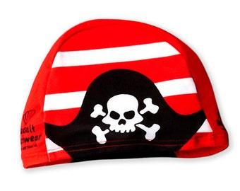 Pirate Swim Cap