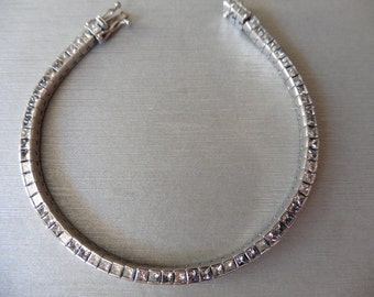 Diamond Tennis Bracelet 4.93ct