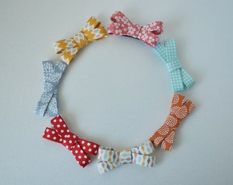 Set of 7 Hair Clips - Non Slip Hair Clips - Baby Hair Clips - Girls Hair Clips - No Slip Hair Clips,