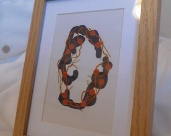 Digital Drawing - Framed Print #4