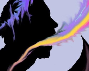 Shadow People- Speak your Mind-Print