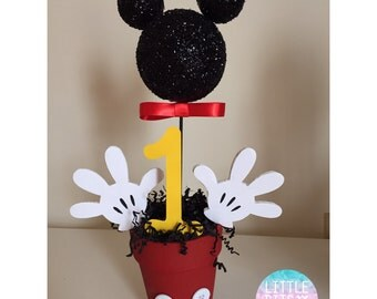 Mickey Mouse Centerpieces 1st Birthday