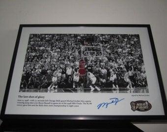 Michael Jordan - Autograph - NBA - Chicago Bulls - Last Shot of Glory - Switzerland - Basketball -