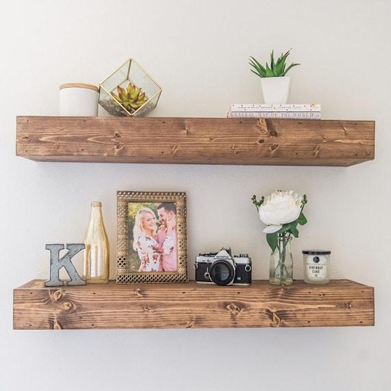 Floating Shelves Customizable Floating Shelf By