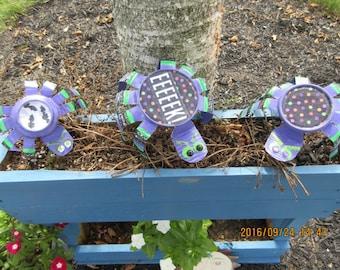 Halloween Metal Spiders/ Halloween Decor/ Recycled Metal