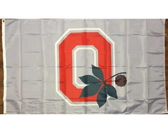 Ohio State University Buckeyes Flag 3 x 5 Banner Sign