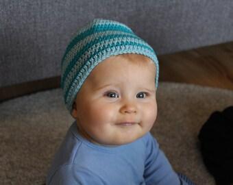 Baby Beanie hat, crocheted baby Hat