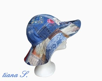 Summer hat, Denim Blue, one size