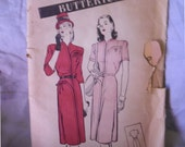 Vintage New Look Butterick 3510 Misses' Sz 14 Dress Pattern