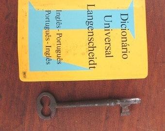 English Portuguese Dictionary Vintage 1984 Pocket Size Langenscheidt