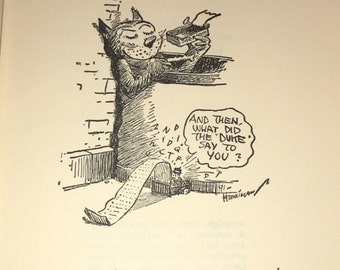 1955 Archy and Mehitabel Comic Poetry Book