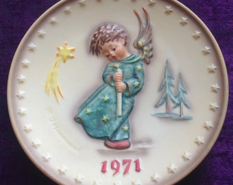 Authentic Goebel Hummel 1971 First Edition Collector Plate 264, #108