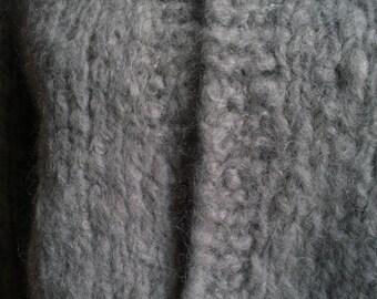 Handmade mohair jacket , size Medium