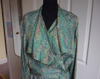 Lady's Hand-made Silk Dress