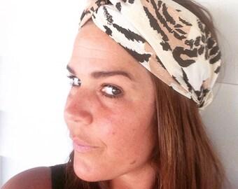 Vintage turban headband