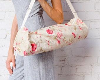 Eco friendly yoga mat bag / Rose Foyo / Recycled