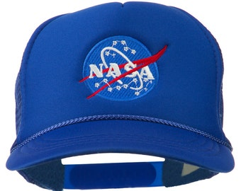 NASA Insignia Embroidered Youth Foam Mesh Cap