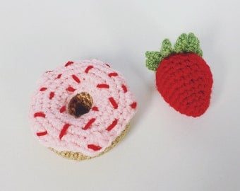 Crochet Donuts // Play Food