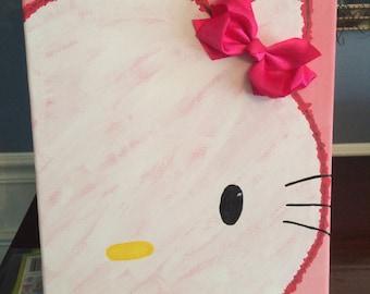 Hello Kitty 3D Canvas