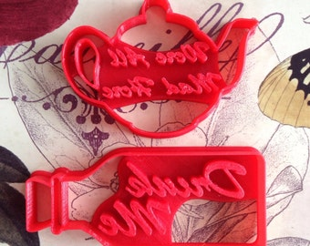 Alice in Wonderland inspired Cookie Cutters