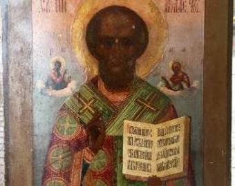 icon St Nicholas , Palex